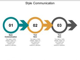 Style Communication Ppt Powerpoint Presentation Infographic Template Microsoft Cpb