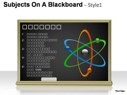 subjects_on_a_blackboard_style_1_powerpoint_presentation_slides_Slide01