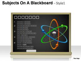 subjects_on_a_blackboard_style_1_powerpoint_presentation_slides_Slide01