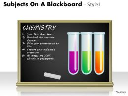 Subjects On A Blackboard Style 1 PPT 7