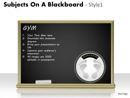 Subjects On A Blackboard Style 1 PPT 9