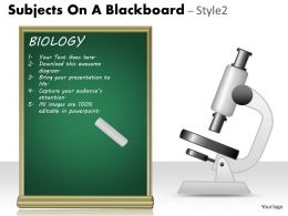 Subjects On A Blackboard Style 2 PPT 4