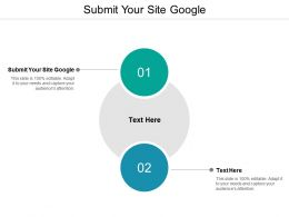 Submit Your Site Google Ppt Powerpoint Presentation Icon Gallery Cpb