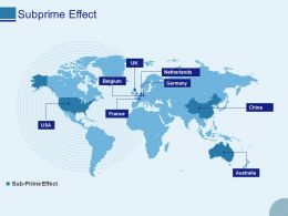 Subprime Effect Ppt Powerpoint Presentation Outline Visual Aids