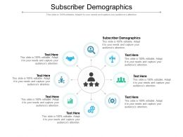 Subscriber Demographics Ppt Powerpoint Presentation Infographics Sample Cpb
