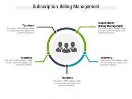 Subscription Billing Management Ppt Powerpoint Presentation Styles Display Cpb