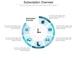 Subscription Overview Ppt Powerpoint Presentation Icon Cpb