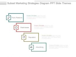 Subset Marketing Strategies Diagram Ppt Slide Themes