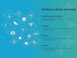 Substance Abuse Treatment Ppt Powerpoint Presentation Professional Template