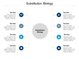 Substitution Biology Ppt Powerpoint Presentation Shapes Cpb