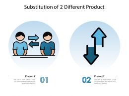 Substitution Of 2 Different Product
