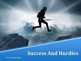 Success And Hurdles Powerpoint Presentation Slides