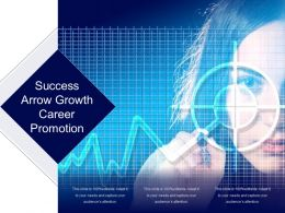 Success Arrow Growth Career Promotion