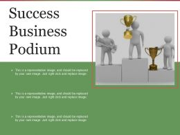 Success Business Podium Sample Ppt Files