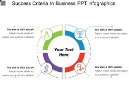 Success Criteria In Business Ppt Infographics