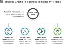 Success Criteria In Business Template Ppt Ideas