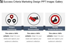 Success Criteria Marketing Design Ppt Images Gallery