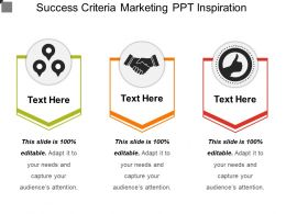Success Criteria Marketing Ppt Inspiration