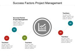 Success Factors Project Management Ppt Powerpoint Presentation Styles Cpb