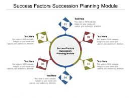 Success Factors Succession Planning Module Ppt Powerpoint Presentation File Slides Cpb