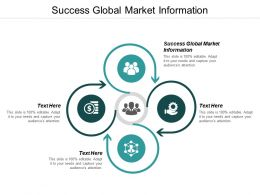 Success Global Market Information Ppt Powerpoint Presentation Pictures Microsoft Cpb