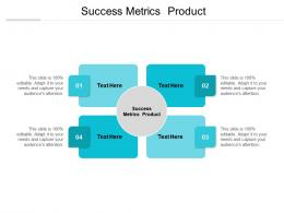 Success Metrics Product Ppt Powerpoint Presentation Styles Aids Cpb