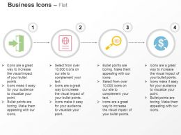 Success Path Global Report Data Search Financial Growth Ppt Icons Graphics