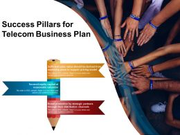 Success Pillars For Telecom Business Plan
