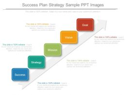 Success Plan Strategy Sample Ppt Images