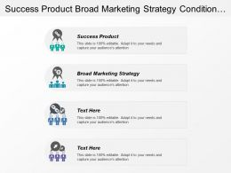 Success Product Broad Marketing Strategy Condition Effective Segmentation