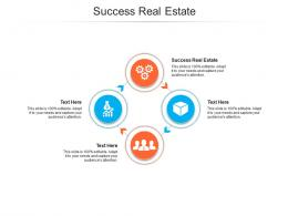 Success Real Estate Ppt Powerpoint Presentation Styles Outfit Cpb