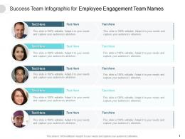 Success Team For Employee Engagement Team Names Infographic Template