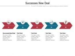 Successes New Deal Ppt Powerpoint Presentation Ideas Inspiration Cpb