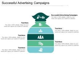 Successful Advertising Campaigns Ppt Powerpoint Presentation Show Sample Cpb