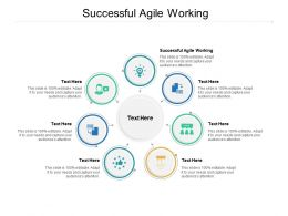 Successful Agile Working Ppt Powerpoint Presentation Ideas Styles Cpb