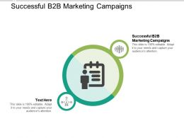 Successful B2B Marketing Campaigns Ppt Powerpoint Presentation Infographics Clipart Images Cpb