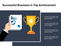 Successful Business In Top Achievement
