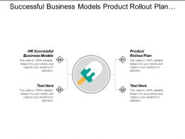 Successful Business Models Product Rollout Plan Communication Channel Cpb