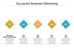Successful Business Networking Ppt Powerpoint Presentation Outline Picture Cpb