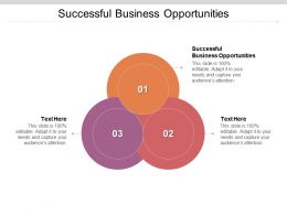 Successful Business Opportunities Ppt Powerpoint Presentation Portfolio Outfit Cpb
