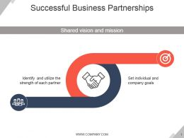 Successful Business Partnerships Ppt Presentation Examples
