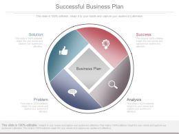 Successful Business Plan Diagram Ppt Slides Download