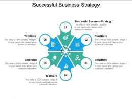Successful Business Strategy Ppt Powerpoint Presentation Infographics Topics Cpb