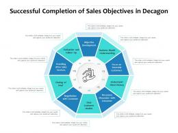 Successful Completion Of Sales Objectives In Decagon