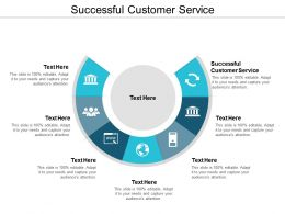 Successful Customer Service Ppt Powerpoint Presentation Gallery Influencers Cpb