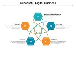 Successful Digital Business Ppt Powerpoint Presentation Model Show Cpb