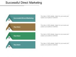 Successful Direct Marketing Ppt Powerpoint Presentation Inspiration Graphics Template Cpb