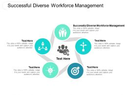 Successful Diverse Workforce Management Ppt Powerpoint Presentation Inspiration Microsoft Cpb