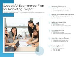Successful Ecommerce Plan For Marketing Project