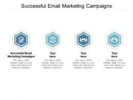 Successful Email Marketing Campaigns Ppt Powerpoint Presentation Summary Designs Cpb
